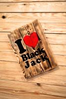 I Love Black Jack Tablo
