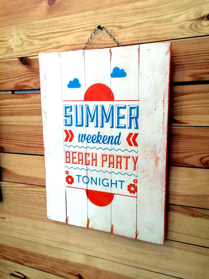 Summer Weekend Tablo